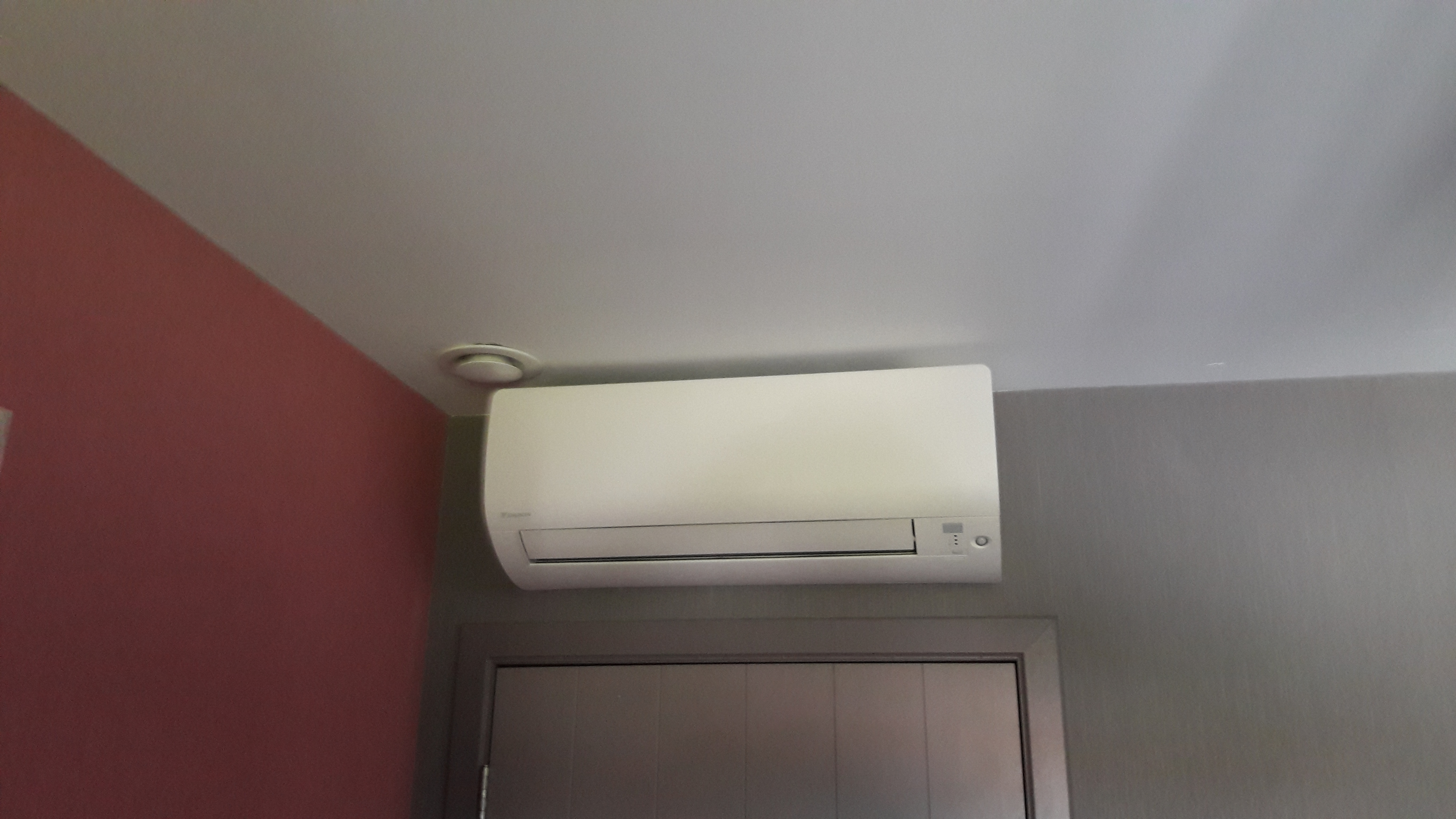 Airconditioning dms installatie for Airco slaapkamer