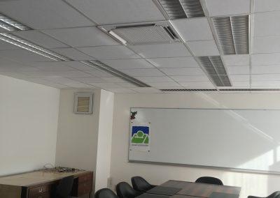 Airco Daikin in Kantoorgebouw