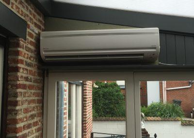Airco Daikin in veranda te Aarschot