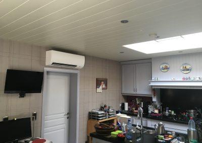 airco keuken met wandmodel Daikin te Aarschot