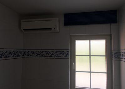Airconditioning Daikin in badkamer te Aarschot