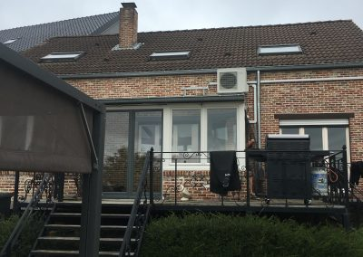 Airco installatie veranda te Aarschot Daikin